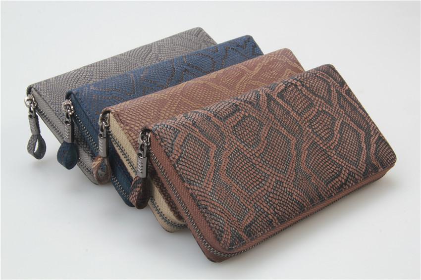 拉鏈蛇紋手包,手工皮具