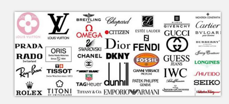 品牌皮具logo大全